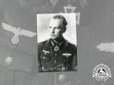 A Post-War Signed Photo of KC Winner Alois Weger
