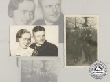 Two Early Photos of SS-Brigadeführer & Oak Leaves with Swords Recipient Heinz Harmel
