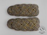 A Set of First War Prussian General's Shoulder Boards