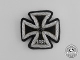 A Rare Cloth Version Iron Cross 1939 First Class