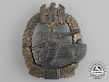 A Gold Grade Tank Badge for 75 Panzer Engagements by Josef Feix & Söhne