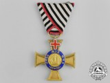 A Franco-Prussian War Period Order of the Crown with Cross of Geneva; Third Class