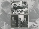 Two Official Wartime Press Photos of Gau Leader & Reich Governor Josef Bürckel with Goebbels