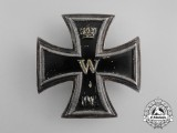 An Iron Cross 1914 First Class; Naval Issue