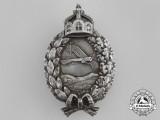 A First War Prussian Pilot's Badge by C. E Juncker of Berlin