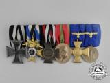 An First War & Army Long Service Medal Bar