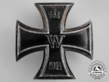 An Iron Cross 1914 First Class; Engraved