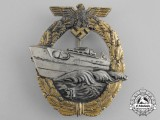 A Kriegsmarine E-Boat Badge by Richard Souval; 2nd Type by Robert Souval
