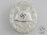 A Silver Grade Wound Badge by Josef Rückner & Sohn