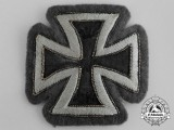 A Rare Cloth Version Iron Cross 1914 First Class