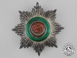 A Turkish Order of Osmania (Osmanli); 2nd Class Breast Star