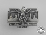 A 1935 10-Year Anniversary of NSDP in Saxony Badge