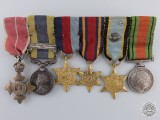 An Air Crew Europe & MBE Miniature Medal Group