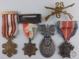 An American Foreign Wars Veteran's Medals