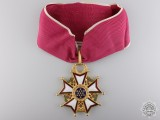 An American Legion of Merit; Commander`s Neck Badge