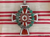 An Austrian Red Cross Decoration; First Class