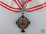 An Austrian Red Cross Decoration; First Class by Scheid