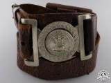 An Early Canadian Militia Officer's Waist Belt