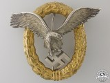 An Early Combined Pilot's & Observers Badge by Friedrich Linden, Ldenscheid
