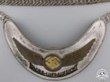 """An Early Luftwaffe Air Traffic Controller's """"REICHS-LUFT-AUFSICHT"""" Gorget"""