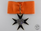 An Estonian Order of the Black Eagle; Second Class