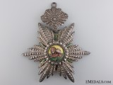 An Iranian Order of the Lion and Sun; Commander's Badge