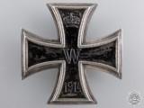 An Iron Cross First Class 1914; 800 Silver