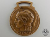 An Italian Fascist Era Eleventh Year Governorate School Merit Medal