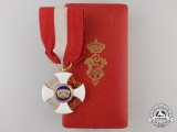 An Italian Order of the Crown of Italy; Knight with Case