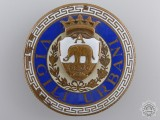 An Italian Vigili Urbani Badge by S.A.E.Pagni