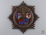 """An NSKK Plaque """"Motorgruppe Gau Hessen 1937"""""""