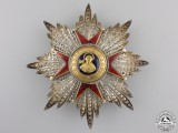 An Order of St. Gregory the Great; First Class Breast Star