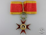 An Order of St. Gregory the Great; Commander's Cross