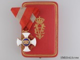 An Order of the Crown of Italyin Gold; Knight