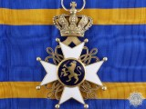 An Order of the Netherlands Lion; Grand Cross in Gold