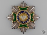 Saxe-Weimar (Herzogtum Sachsen-Weimar), an Outstanding 1840's Order of the White Falcon, Grand Cross Star