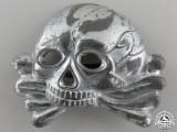 An SS Skull; First Model for Visor Cap