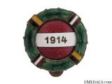 Austrian WWI Commemorative Badge 1914