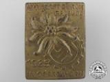 A 1937 Oberbayern Kraft Durch Freude Meet Badge