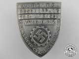A 1934 German Labour Front Donation Badge