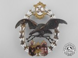 A First War Austrian Imperial General Flying Badge 1917-18 by J. Zimbler