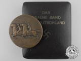 "A 1938 NSDAP ""Braune Band"" Medal with Case"