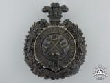 A 14th Regiment of Canadian Militia Helmet Plate