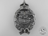 A First War Prussian Pilot's Commemorative Badge by Juncker