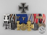 The Medal Bar and Iron Cross 1st Class of Generalfeldmarschall Erhard Milch
