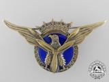 A Spanish Franco Era Military Transport Pilot Wings Badge