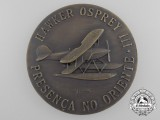 A Portuguese Macau Naval Aviation Centre Hawker Osprey III Medal 1938-1942