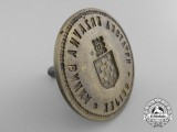 A Croatian National Bank at Osijek Seal 1941-1945