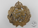 A Second War Royal New Zealand Air Force (RNZAF) Cap Badge