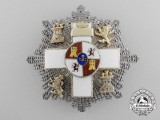 A Spanish Order of Military Merit; 3rd Class with White Distinction